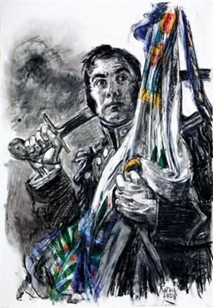 """25/02/1778 José de San Martín: """"servía en el ejército español en 1811. Veinte años de honrados servicios me habían atraído alguna consideración, sin embargo de ser americano; supe de la revolución de mi país, y al abandonar mi fortuna y mis esperanzas, sólo sentía no tener más que sacrificar al deseo de contribuir a la libertad de mi patria; llegué a Buenos Aires a principios de 1812 y desde entonces me consagré a la causa de América: sus enemigos podrán decir si mis servicios han sido…"""