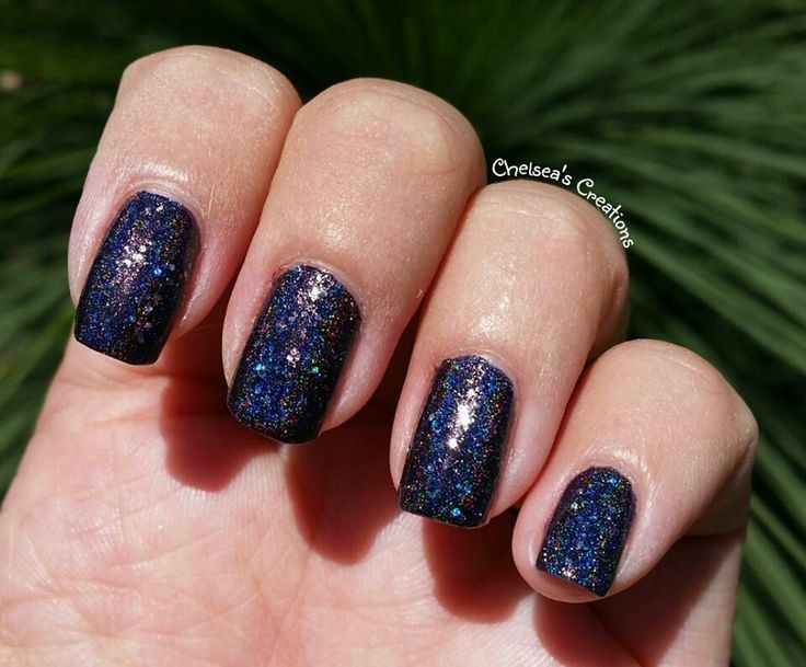Nail Stamping Queen ~ Holo Glitter Storm