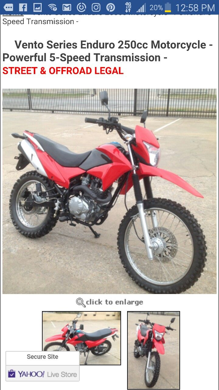 Coolster xs deluxe 125cc pit dirt bike semi automatic transmission calif legal