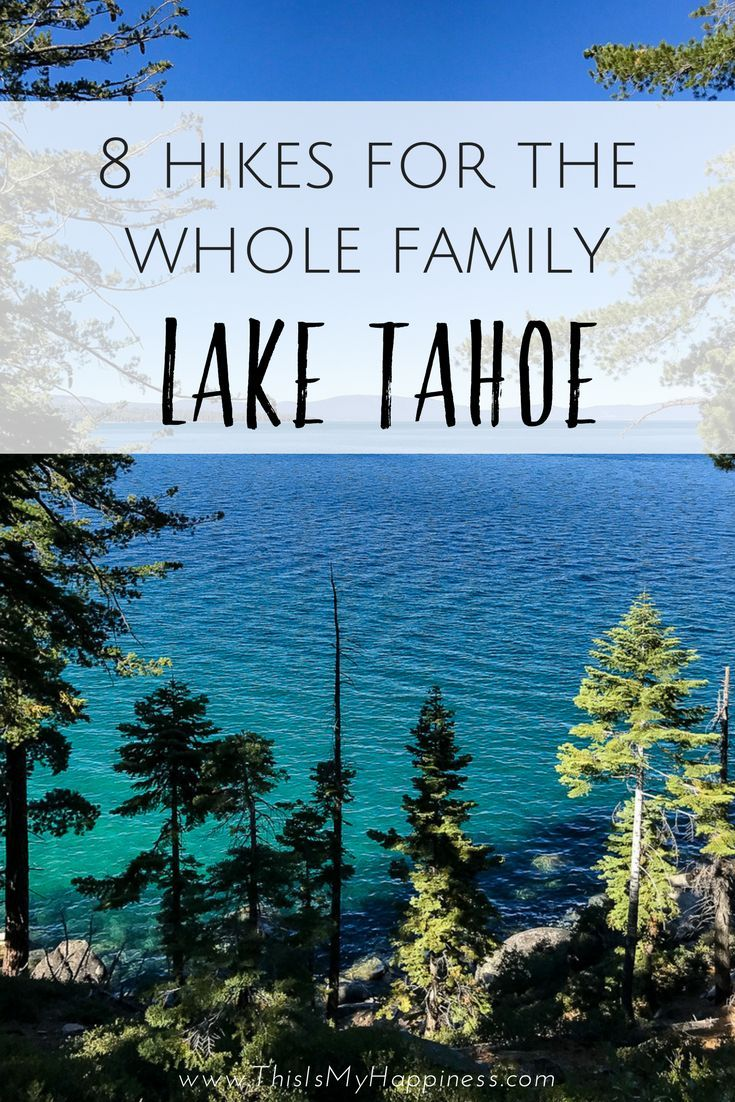 Where to hike with kids at Lake Tahoe: 8 easy hikes at Lake Tahoe