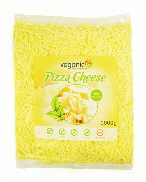 Veganic Pizza Chese (vegane Alternative zu Pizzakäse), 1Kg