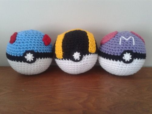 Find out how to make these special pokeballs (Great, Ultra, and Master)