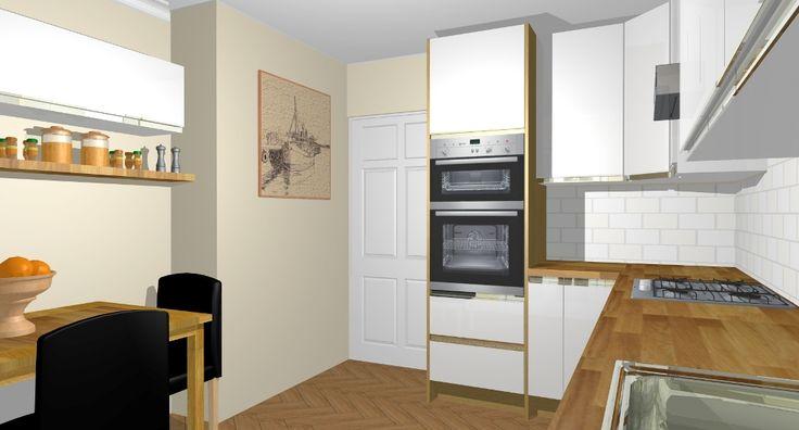 41 Best 3d Kitchen Design Images On Pinterest 3d Kitchen Design Contemporary Unit Kitchens