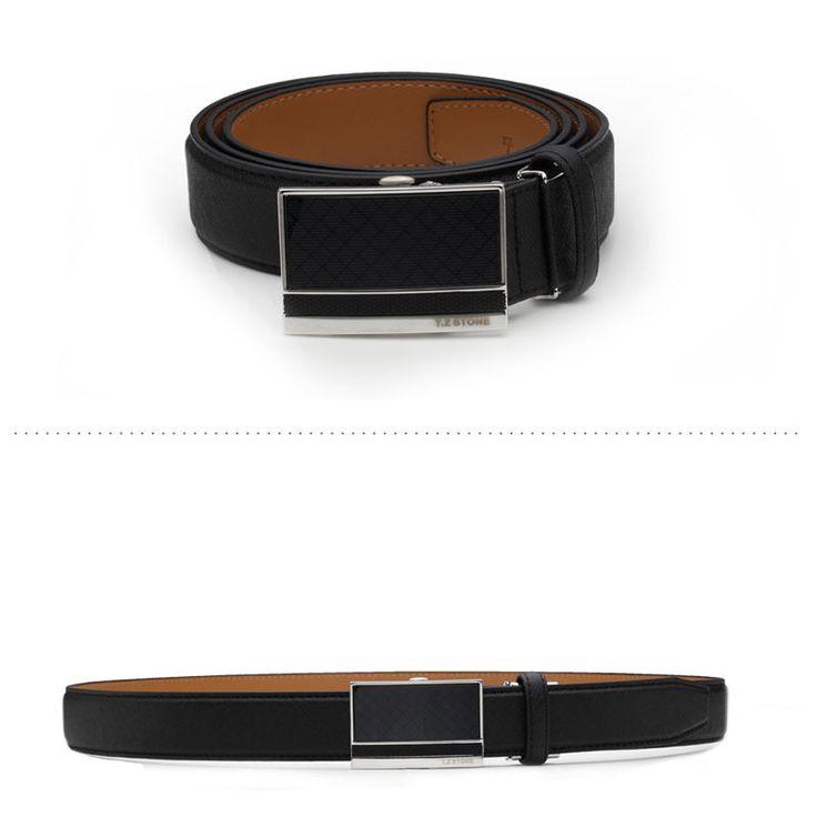 T.Z STONE Belts Italy Leather Casual Men's Waist New Belt Accessories TZ1D301BK #TZStone