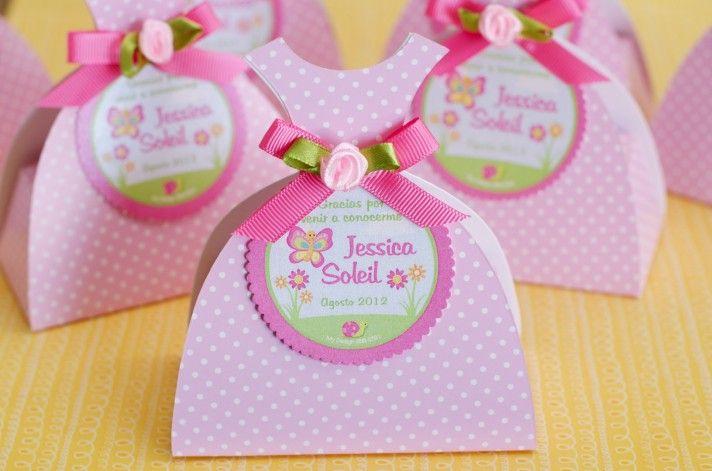 Cajitas Rellenas de Golosinas – Nacimiento de Jessica Soleil