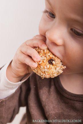 Backen macht glücklich | Knabber-Brötchen bzw. Brot für Babys und Kleinkinder | http://www.backenmachtgluecklich.de