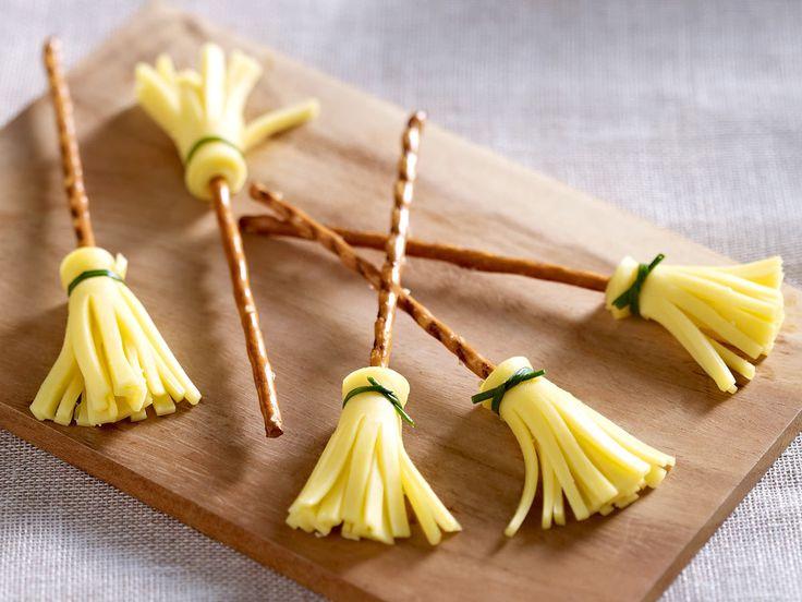Kreativ mit Käse – 4 Ideen für raffinierte Snacks