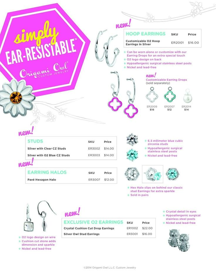 650 Best Origami Owl Accessories Images On Pinterest Living