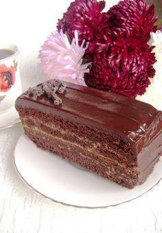 Торт «Шоколадное танго» для друзей с благодарностью.. Рецепт c фото от ogiway 10 октября 2015 на koolinar.ru