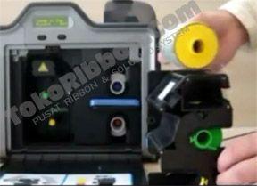 Panduan Cara Memasang HDP Film Printer e-KTP Fargo HDP5000 ada di TokoRibbon.Com