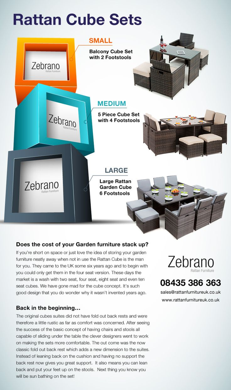 What Size Garden Furniture Do You Need? Www.rattanfurnitureuk.co.uk