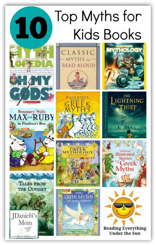 My Top Ten Myths for Kids Books from @jdaniel4smom