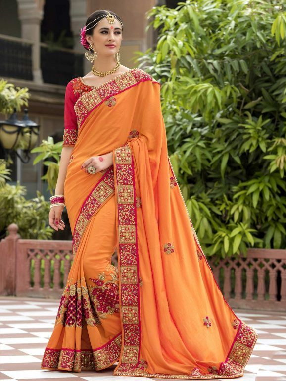 Indian Wedding Saree Latest Designs & Trends 2019-2029 ...