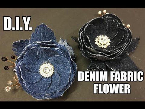 I have use old Denim Fabric to make these flowers. The best way to recycle your old pair of jeans. Happy Crafting!!! ♡ ❀ ♡ ❀ ♡ ❀ ♡ ❀ ♡ ❀ ♡ ❀ ♡ ❀ ♡ ❀ ♡ ❀ ♡ ❀ ...