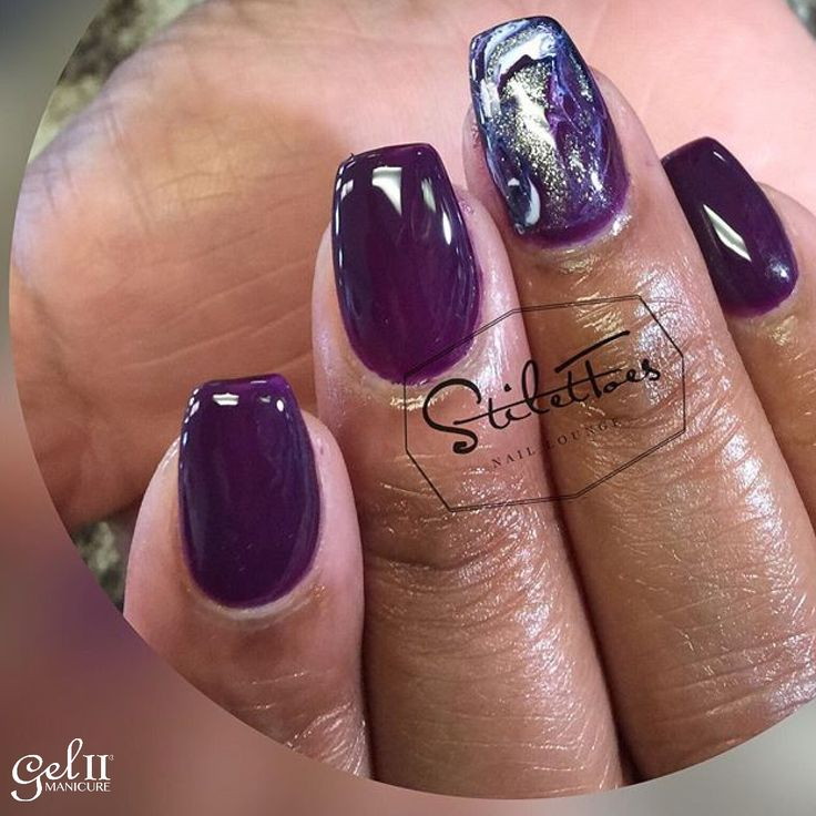 14 best gel ii timeless treasures nail art images on pinterest plum perfection prinsesfo Images