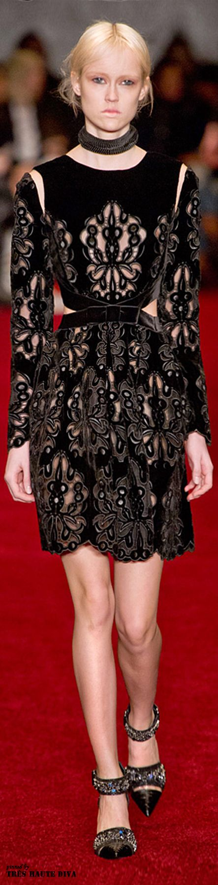 London Fashion Week Erdem Fall/Winter 2014 RTW #fashion