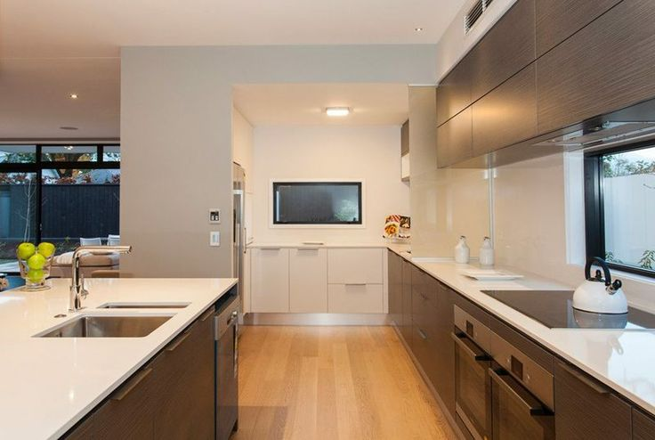Modern Masterpiece | Trade Me Property-an alternative to the butlers pantry-but want door to close