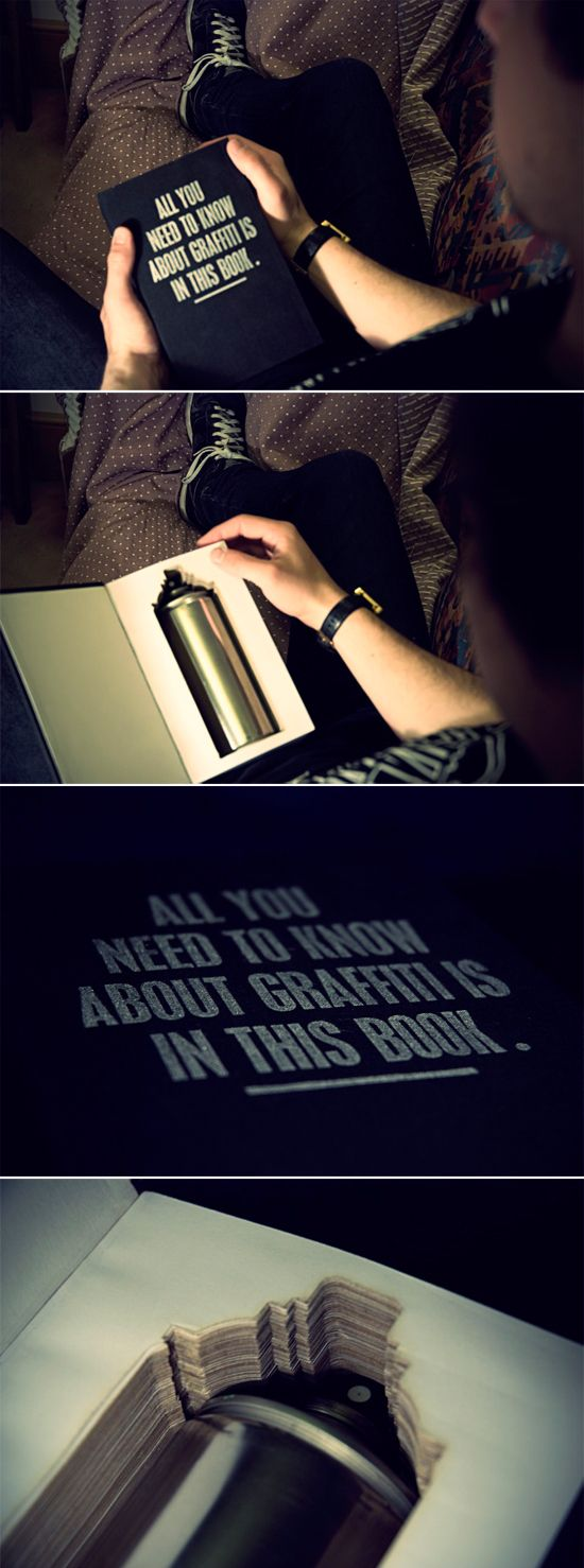 For some reason, I've always loved the concept of opening a book and finding something inside.