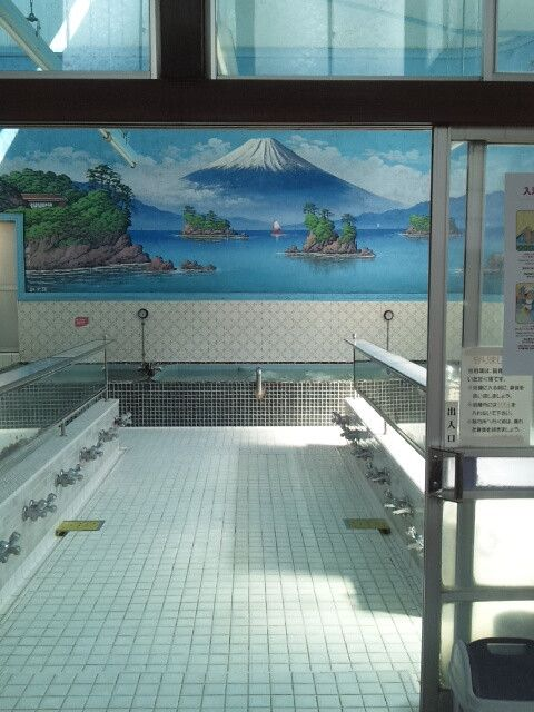 "Public Bath(銭湯/sento):  Movie ""Thermae Romae"" was filmed here"