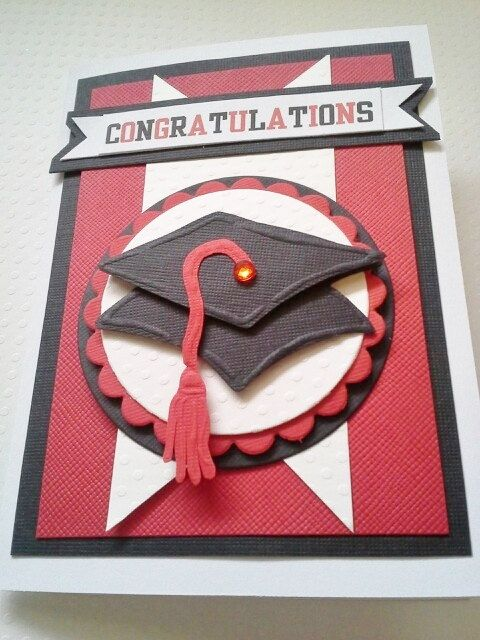 Handmade Graduation Card in your choice of by chucklesandcharms