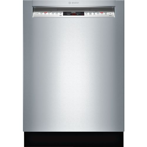 Bosch SHE68TL5UC 800 24 Stainless Steel Semi-Integrated Dishwasher - E