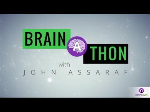 The 4th annual Brain-A-Thon that will give you a chance to watch, listen and learn on how to make changes in your life.  Learn from the best.  Go to https://youtu.be/lZ3OXH9F0qo to watch.