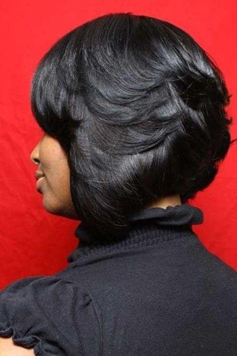 15 Black Girl Short Bob Hairstyles | http://www.short-haircut.com/15-black-girl-short-bob-hairstyles.html