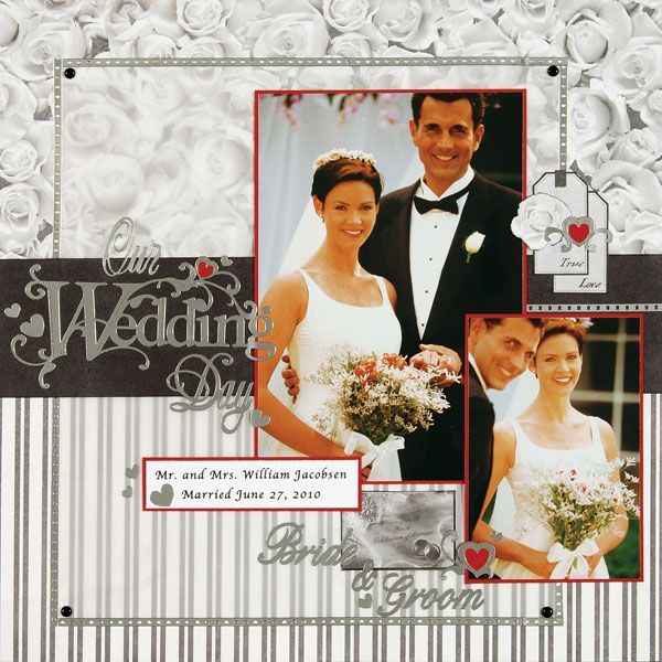 Wedding Scrapbook Layouts 12x12 Layouts Scrapbooking Ideas Layouts Featuring F Wedding Scrapbooking Layouts Bridal Shower Scrapbook Anniversary Scrapbook