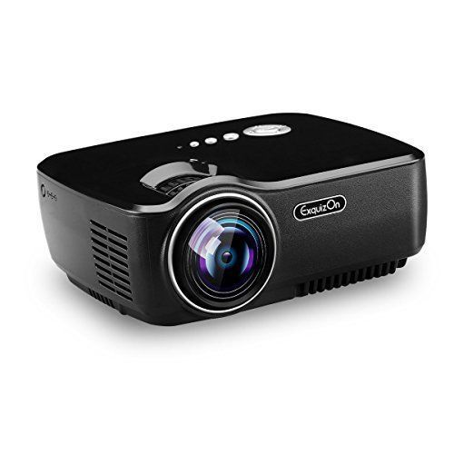 Home Movie Cinema Theater Portable Projector 1080P LCD For iPhone Android NEW #PortableProjector