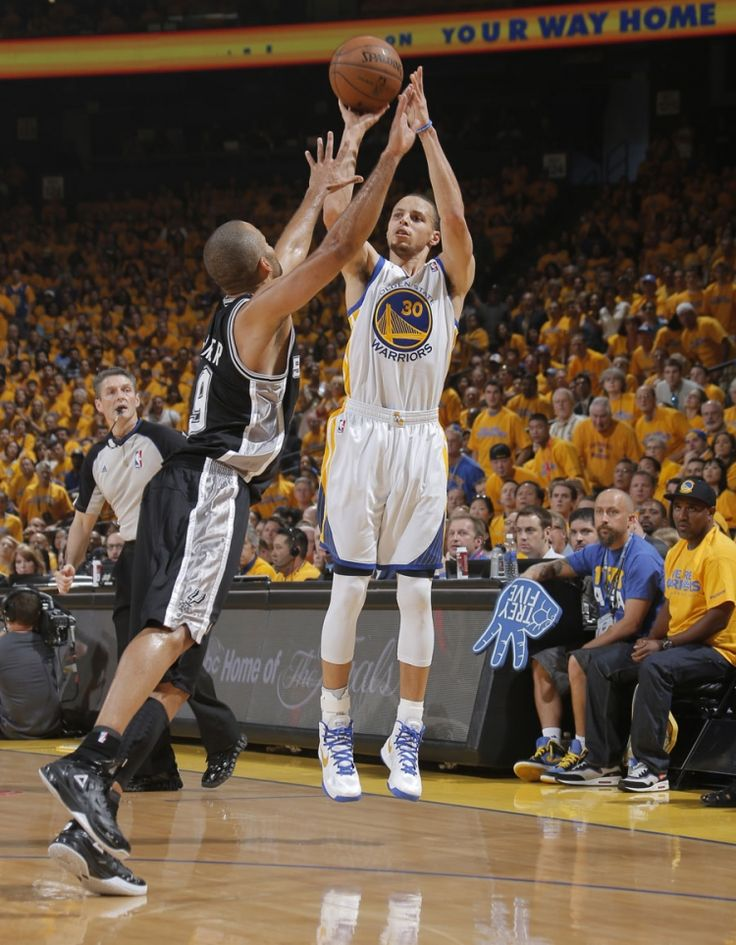 Game 4   Stephen Curry scored 22 points on 7-of-15 shooting including 5 three-pointers.