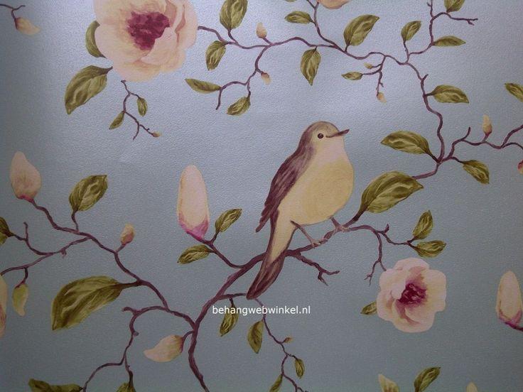 Behang Met Vogels