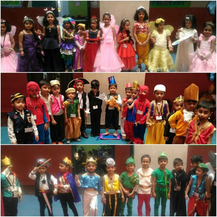 All the Princes n Princesses of Jr.Kg are ready to make their own Fairy tale- 'All our dreams can come true if we have the courage to pursue them. Check the photos: http://rbkschool.org/photogallery.html