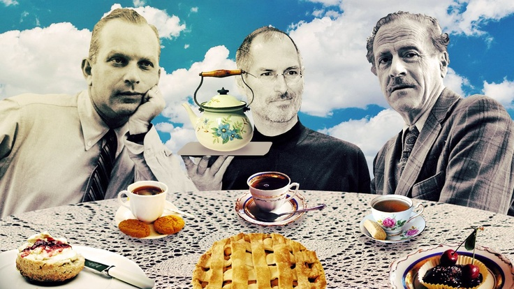 BILL BERNBACH, STEVE JOBS, AND MARSHALL MCLUHAN WALK INTO A CAFE (AND TALK ABOUT ADVERTISING)