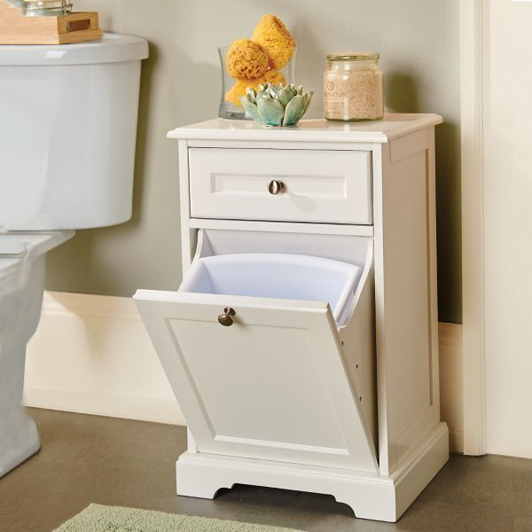 Weatherby Trash Can Cabinet With Drawer My Apartment
