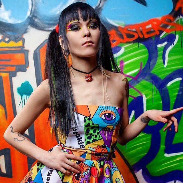 Нуки, вокалистка группы СЛОТ  #rock_girls_russia #рокдевушки #rockgirls #russia #россия #рок #rock #альтернатива #alternative #show #шоу #concert #концерт #tattoo #тату #music #музыка #girls #девушки #rockgirlsrussia