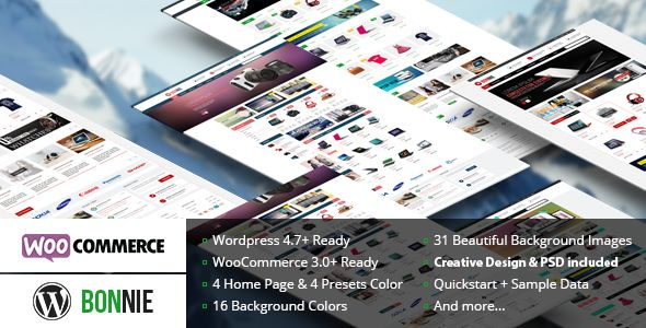 VG Bonnie v2.4  Creative WooCommerce WordPress Theme  Blogger Template