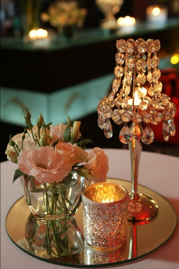 Crystal Lamp Wedding Decoration Details Ideas