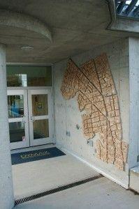 Burnside Gorge Ductal Art Piece, Victoria, Vancouver Island, BC, Canada