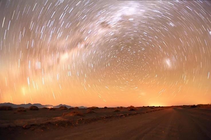El Valle de la Luna  en San Pedro de Atacama nos deleita con su espectáculo estelar.  Foto: Alfonso Díaz.