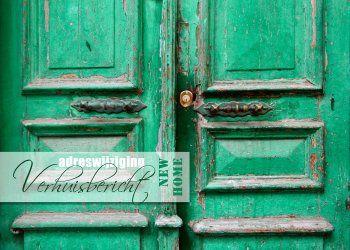 OTTI - oude groene deuren kaart (Voorzijde)