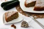 Torta dolce di zucchine e mandorle