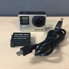 GoPro Hero 4 BLACK Edition 4K Action Camera Camcorder - CHDHX-401