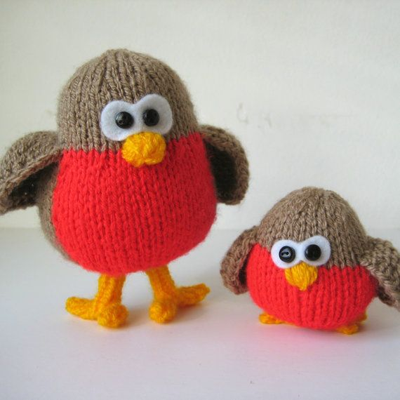 Christmas Knitting Quotes : Best robins images on pinterest hanging decorations