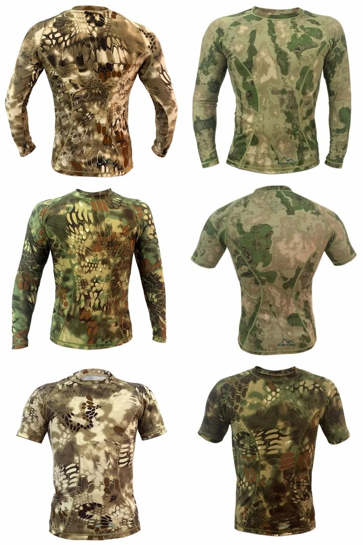 [Visit to Buy] Out door Quick Dry Sports Tactical Hunting Sniper Camouflage T-shirt Men Breathable Army Tactical Mesh home Military T Shirt #Advertisement
