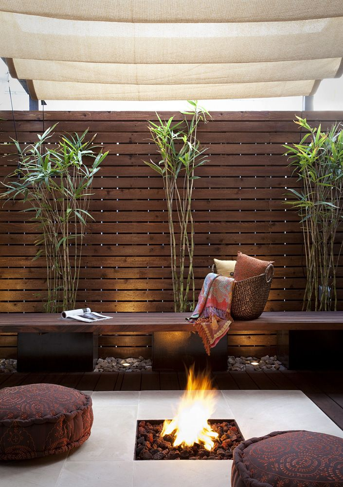 Austin Outdoor Design - Las Colinas Fire pit