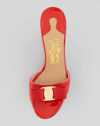 Glory Patent Bow Slide Red In 2019 Red In Love