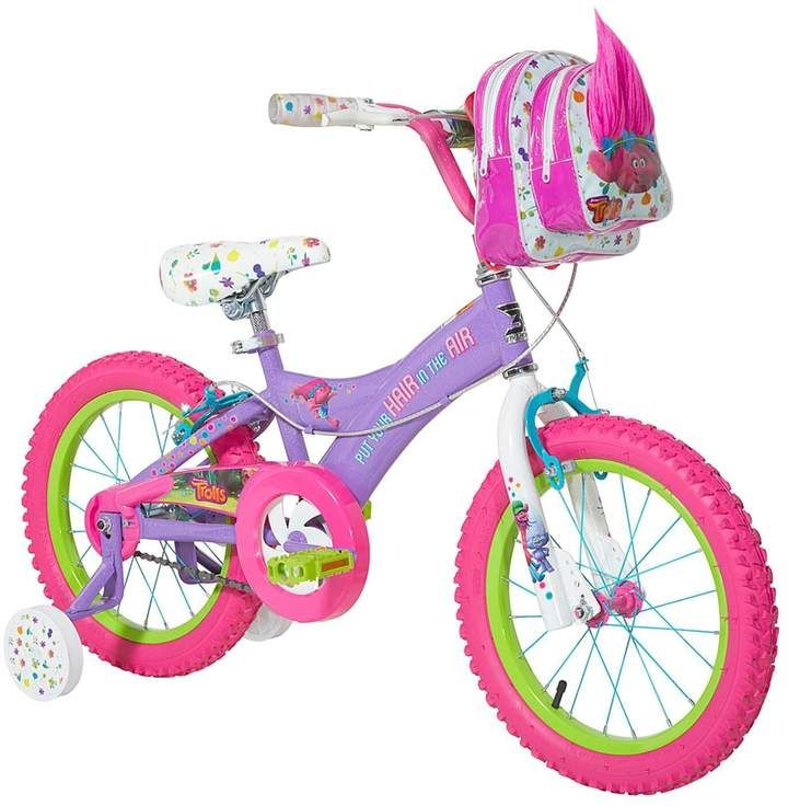 Girls Dreamworks Trolls Poppy 16 Inch Bike Kids Bike Bike With Training Wheels Tricycle