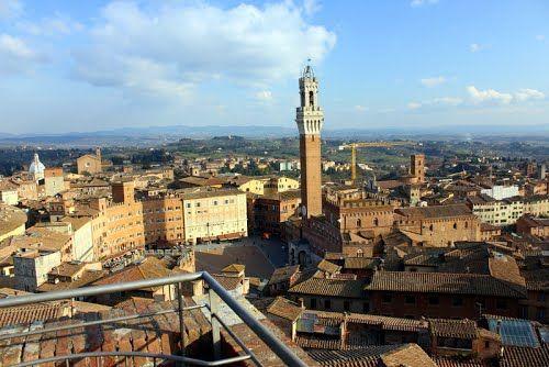 Siena Italy  - Photos by Garnet Allwright