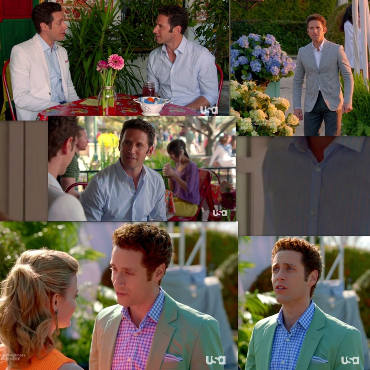 From the show Royal Pains - In love with actor Paulo Costanzo's green suit