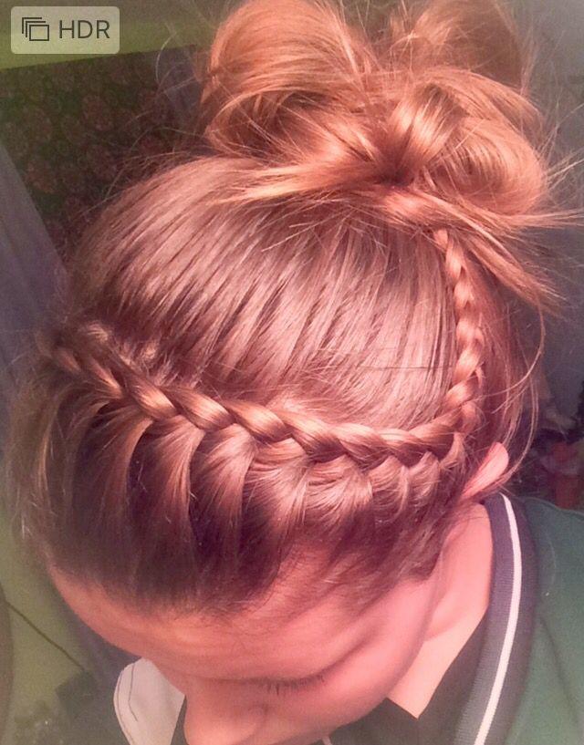 Best Volleyball Hair Ideas On Pinterest Cute Volleyball Hair - Bun hairstyle games